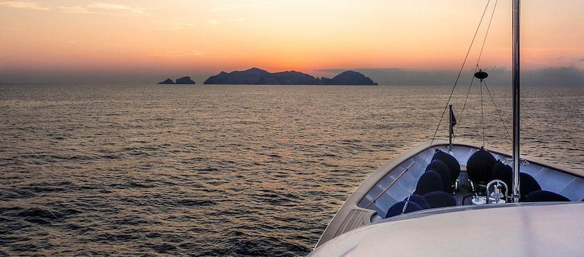 giro in barca dell'isola di Ponza