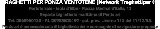 Network TraghettiPer - Traghetti per Ponza e Ventotene