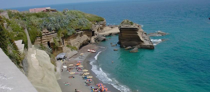 Ventotene spiagge per bambini