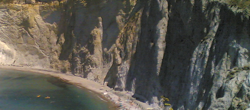 Ponza spiagge di sabbia