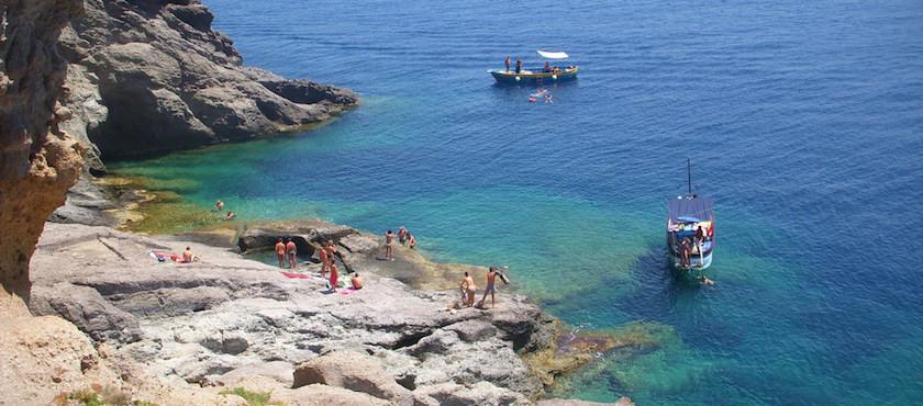 spiagge di Ventotene