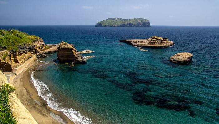 Le spiagge più belle di Ventotene