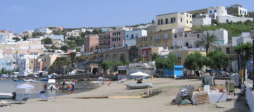 spiagge Ponza e Ventotene
